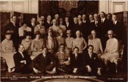 CPA Sveriges, Belgiens, Danmarks, Norges Kon.fam BELGIAN ROYALTY (827978) - Familles Royales