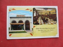 The States Restaurant  Washington DC  Ref 3256 - Washington DC