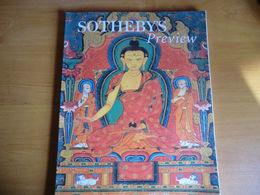 CATALOGUE DE VENTE AUX ENCHÈRES - APRIL 1998 SOTHEBY'S PREVIEW TEXTE EN ANGLAIS - - Cultural