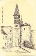 Tournus (71) - Eglise Saint Philibert - Les Tours D'entrée - France