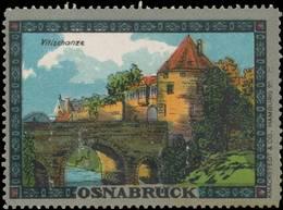 Osnabrück: Vitischanze Reklamemarke - Cinderellas