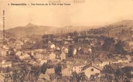12 - Décazeville - Un Beau Panorama De La Ville - Des Usines - Decazeville