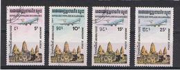 CAMBOGIA:  1984  P.A.  AEREO  IN  VOLO  -  S. CPL. 4  VAL. US. - Cambogia
