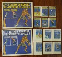 #A47# TOGO. MICHEL 403/408A+B, BL 18A+B MNH**. SPACE. - Togo (1960-...)