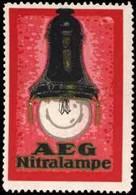Berlin: Nitralampe Reklamemarke - Erinnofilie