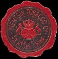Tientsin: Tientsin Tobacco Co Reklamemarke - Erinofilia