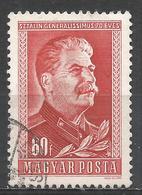 Hungary 1949. Scott #864 (U) Joseph V. Stalin * - Oblitérés