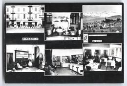 """PINEROLO - TORINO - ANNI 50 - ALBERGO RISTORANTE """"REGINA """" CON 6 VEDUTINE - Alberghi & Ristoranti"""