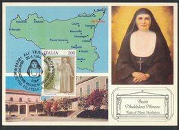 VE14a  Ali Terme (ME) 1994  Beata Maddalena Morano Figlia Di Maria Ausiliatrice - Messina
