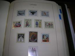 Lettonia PO 1997 Epochs   Scott.439+ See Scan On Leuchturm Page; - Lettonia