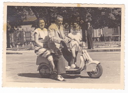 MOTO SCOOTER - LAMBRETTA (?) - FOTO ORIGINALE - Automobili