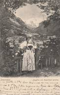 Interlaken - Jungfrau Vom Rugenhügel Gesehen  - Scan Recto-verso - BE Berne