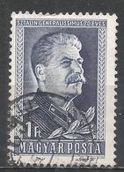 Hungary 1949. Scott #865 (U) Joseph V. Stalin * - Oblitérés