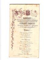 1 Menu Brouwerijen Vereniging Banquet  Brasseurs Brouwers West Vlaanderen Congres Daveluy Oostende CONTINENTAL Hotel - Menus