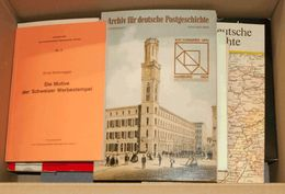 (1980ca). Conjunto De Libros Divulgativos De Filatelia Europea Destacando Obras Dedicadas A Alemania, Dinamarca, Etc (se - Spain