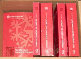 (2003ca). Seis Catálogos Yvert: Francia (2003), Colonias Francesas 1ª Parte (2006), Tres Tomos De Europa Del Oeste Compl - Spain
