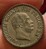 1 SILBER GROSCHEN 1867 A GERMANIA GERMANY PRUSSIA D.199 - Piccole Monete & Altre Suddivisioni