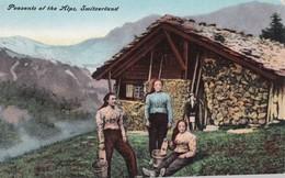 Peasants Of The Alps , Switzerland , 00-10s - Altri