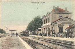 *LONGEVILLE. LA GARE - France
