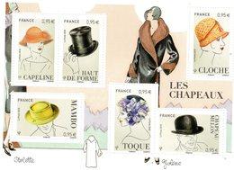 France 2018 : Feuillet** F5277 Chapeau Masculins Et Féminins - Sheetlets
