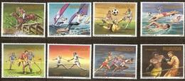 Rwanda Ruanda 1984 Yvertn°  1210-1217  *** MNH Cote 17,00 Euro   Sport Jeux Olympiques Olympische Spelen Los Angeles - 1980-89: Neufs