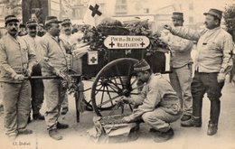 CPA 2553 - MILITARIA - Carte Militaire - Pour Les Bléssés Militaires - Croix - Rouge - Characters