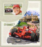 Niger 2014  -  Formula 1 -  Michael Schumacher  -  Ferrari  - 1v MS Neuf/Mint/MNH - Automobile