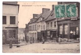 FOUCARMENT - La Rue Des Halles  (carte Animée) - Autres Communes