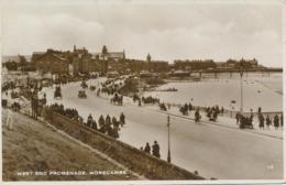 PC72209 West End Promenade. Morecambe. RP. 1933 - Cartes Postales