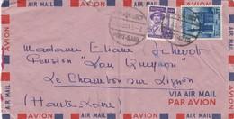 COVER EGYPT. 1954. PAQUEBOT PORT-SAID TO FRANCE - Égypte
