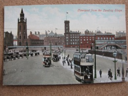 Liverpool From The Landing Stage, Lancashire (Trams And Carriages) - Liverpool