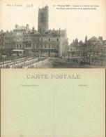 D - [511716]France  - (80) Somme, Péronne,Eglises Et Cathédrale, Marchés - Peronne