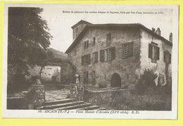 * Ascain (Dép 64 - Pyrénées Atlantiques - France) * (Edit Dorange - Tours, Nr 16) Vieux Manoir D'Ascubéa, XVI Siècle - Ascain