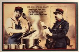 France - 2014 - Feuillet Gommé - Les Deux Amis Du Soldat - Vignette Philaposte - Neuf - Sheetlets