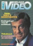 BELGIAN VIDEO N° 27 DERDE JAARGANG - 1985 ( JEAN-PAUL BELMONDO ) - Cinéma & Télévision