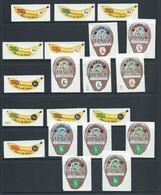 Tonga 1970 Banana & Coconuts Postage & Official Self Adhesives Set 20 MNH - Tonga (1970-...)
