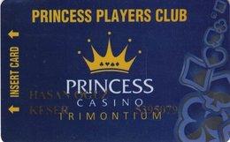 BULGARIA  KEY CASINO  Princess Players Club Premium Trimontium -     Plovdiv - Casino Cards