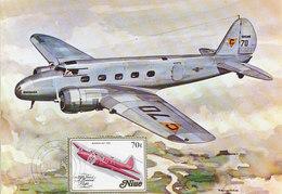 D36614 CARTE MAXIMUM CARD 1984 NIUE - AIRCRAFT PIONEER BOEING 247 CP ORIGINAL - Aerei