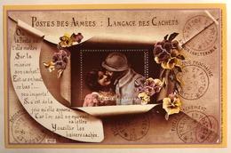 France - 2014 - Feuillet Gommé - Poste Des Armées : Langage Des Cachets - Vignette Philaposte - Neuf - Sheetlets