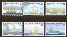 Solomon Salomon Islands 2009 Yvertn° 1259-1264 *** MNH Cote 21,50 Euro Bateaux Boten Ships - Salomon (Iles 1978-...)