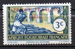 Col 13 / AEF Afrique Equatoriale N° 158   XX MNH  Cote : 8,00 € - Ungebraucht