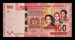 Bolivia 100 Bolivianos 2018 (2019) Pick New Design SC UNC - Bolivia