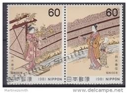 Japan - Japon 1981 Yvert 1367-68, Philatelic Week - MNH - 1926-89 Emperador Hirohito (Era Showa)