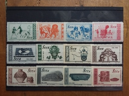 CINA - 3 Serie Nuove Anni '50 + Spese Postali - 1949 - ... République Populaire