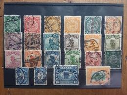 CINA - Lotticino 22 Francobolli Differenti + Spese Postali - 1912-1949 Repubblica