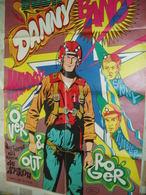 BUCK DANNY -POSTER DU 8/1968-SUPPLEMENT SPIROU 1585- - Other