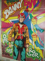 BUCK DANNY -POSTER DU 8/1968-SUPPLEMENT SPIROU 1585- - Livres, BD, Revues