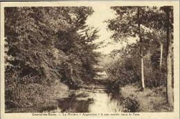"""GENVAL-les-EAUX - La Rivière """"Argentine"""" à Son Entrée Dans Le Parc - Oblitération De 1934 - Rixensart"""