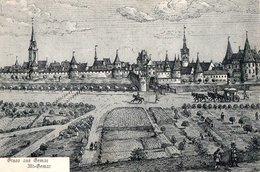 CPA (Haut-Rhin 68) Gemar - Gravure De Mérian - Editeur Victors KUNSTVERLAG Strasbourg Philatélie Timbre Allemand 1908 - Other Municipalities