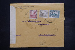 ESPAGNE - Enveloppe Commerciale De Sevilla Pour Marseille En 1937 Avec Contrôle Postal - L 26858 - Republikanische Zensur
